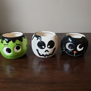 Other - Halloween decorative candle holders